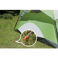 Metal Stakes Gazebo Accessories, Camping nail accessories outdoor tent nails thickened and long sky curtain steel pile windproof fixed nails 10