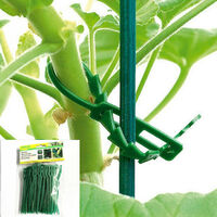 13CM green garden cable tie gardening cable [high-quality imported materials can be reused (50 cable ties)