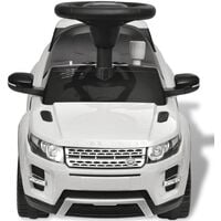 Land Rover 348 Kids Ride-on Car with Music White10-Serial number
