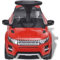 Land Rover 348 Kids Ride-on Car with Music Red9-Serial number