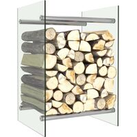 Firewood Rack Transparent 40x35x60 cm Glass15822-Serial number