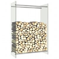 Firewood Rack Transparent 80x35x120 cm Glass15831-Serial number