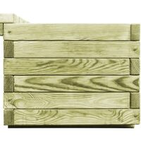 Garden Planter Bench Impregnated Pinewood31783-Serial number