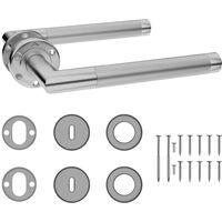Door Handle Set with BB Deadlock Stainless Steel6117-Serial number
