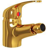 Bathroom Bidet Mixer Tap Gold 13x12 cm7277-Serial number