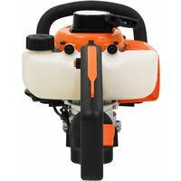 Petrol Hedge Trimmer 722 mm Orange and Black4758-Serial number
