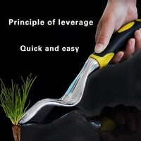 Hand Weeder Remover Tool Manual Weed Puller Bend-Proof Weed Puller Digger for Garden Outdoor Planting Flowers to Remove Weeds (1)
