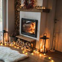 Salt String Light USB Pink Salt Lamp Fairy Lights LED String Lights Fairy Salt Lamp Lights for Bedroom Salt Christmas Decorations Lights