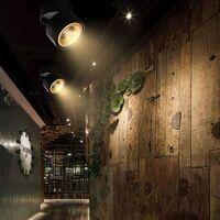Spot LED protruding 10W, swiveling ceiling spot, kitchen, living room, store lighting, hot white (black)