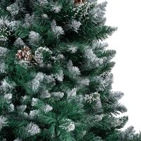 Artificial Christmas Tree with Pine Cones and White Snow 150 cm26174-Serial number