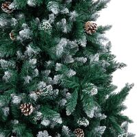 Artificial Christmas Tree with Pine Cones and White Snow 210 cm26176-Serial number