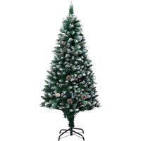 Artificial Christmas Tree with Pine Cones and White Snow 180 cm26175-Serial number