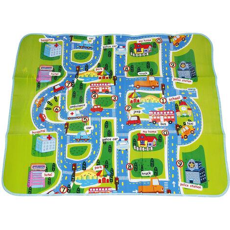 YONGQING®Tapis enfant Tapis Chambre Tapis Rectangulaire Tapis - Vert