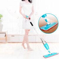 Spray Mop Balai Vapeur Multifonction Reservoir Pulse Jet Sprayer pour carrelage - Bleu