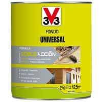 V33 062551 - Traitement polyvalent universel pour bois d'extérieur finition incolore l 25