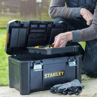 STANLEY STST1-75521 - 19 pouces plast outil box-48cm fermoirs en métal