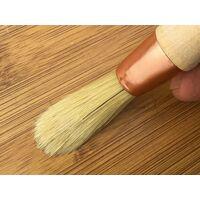 Pinceau de pouce à rechampir | Brosse ronde soie blanche - Quantité x 1 - Ø 15 mm