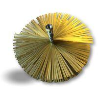 Hérisson acier | Embout acier fileté M12*1,75mm | Ramonage conduits non gainés - Ø 250 mm - Hérisson acier