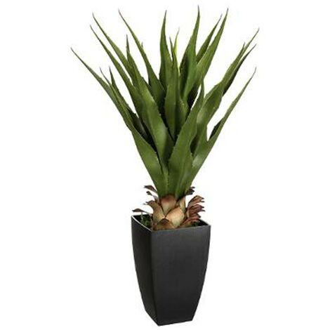 Palmier Artificiel en Pot Agave 73cm Vert