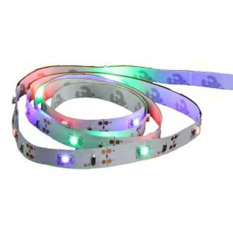 Ruban LED à Piles 1m Multicolore