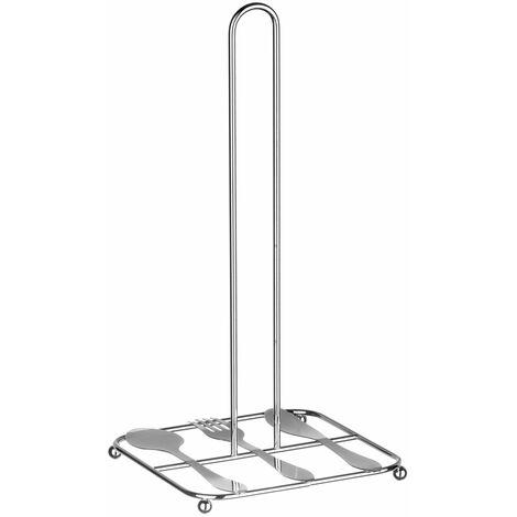 Premier Housewares Chrome Kitchen Roll Holder