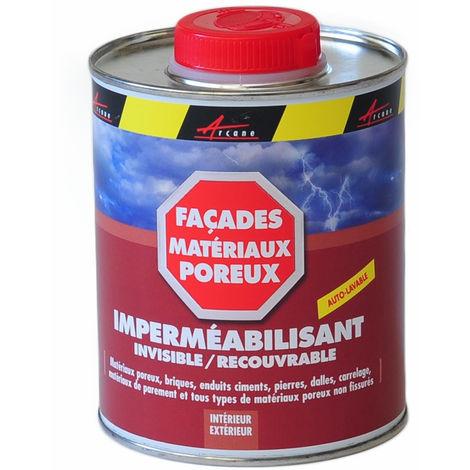 Produit Hydrofuge - Imperméabilisant tuiles, murs, sols poreux - ARCAFUGE - ARCANE INDUSTRIES - Transparente - Liquide - 0.75 L (jusqu a 3.75m²)