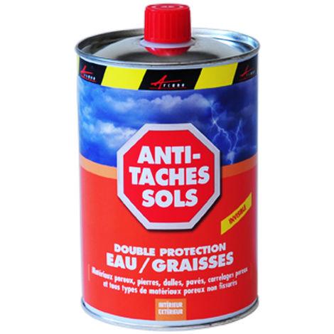 Imperméabilisant oléofuge anti taches - ANTI TACHES SOL - ARCANE INDUSTRIES - Liquide- Transparent - 1 L (jusqu a 5m²)