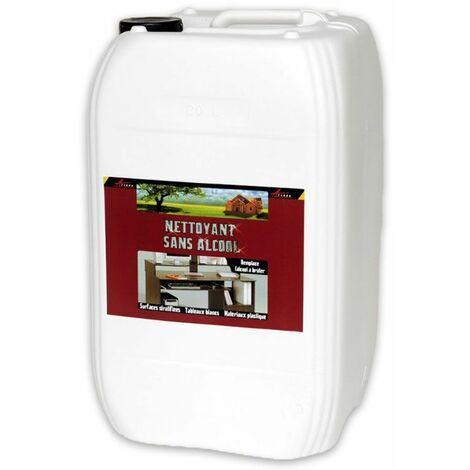 NETTOYANT SANS ALCOOL - Nettoyant PVC stratifié tableau blanc velleda Plastique Ordinateur Téléphone Télévison TV - ARCANE INDUSTRIES - Transparente - Liquide - 20 L