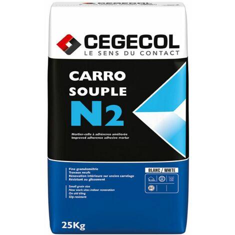 Colle carrelage souple flex - COLLE C2E - ARCANE INDUSTRIES - Blanc - 25 Kg