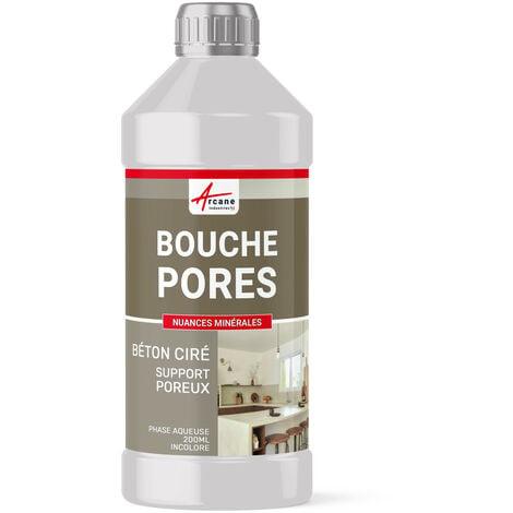 BOUCHE PORES POUR BETON CIRE - ARCANE INDUSTRIES - Transparente - Liquide - 200 ML