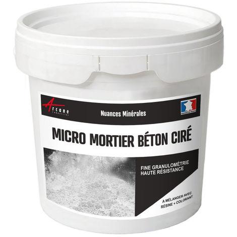 Mortier pour béton ciré - MICRO-MORTIER BETON CIRE - ARCANE INDUSTRIES - Blanc - 3 kg