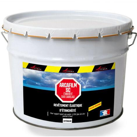 Résine d'étancheite sous carrelage extérieur pour support avec pente HAUTE DURABILITE - ARCAFILM SC - ARCANE INDUSTRIES - Gris - 2.5 L