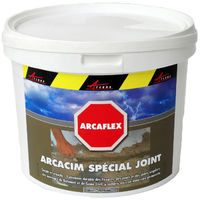 Mortier joint souple réparation fissure béton carrelage mur façade piscine bassin traitement acier pvc ARCAFLEX - ARCANE INDUSTRIES - Vert foncé - 2 Kg