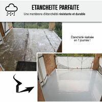 Revêtement Étanchéité Coloré - Résine étanche Terrasse et Toit Plat - Séchage 3H pour application en toute saison - ARCATHAN XTREM - ARCANE INDUSTRIES - Gris - 17 Kg (jusqu'a 11m² pour 2 couches)