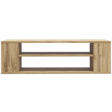 Selsey Weri - Modern Floating TV Stand - 100 cm - Wotan Oak