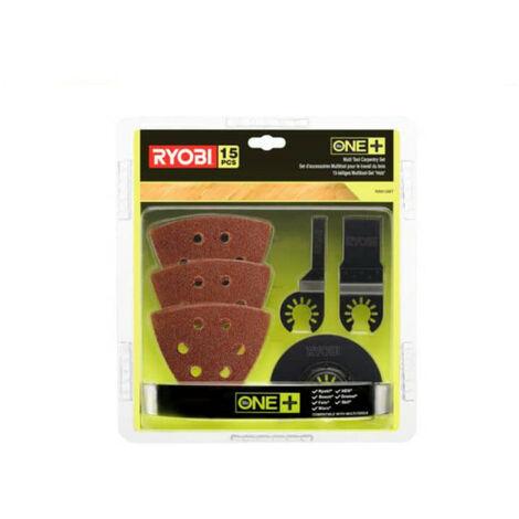 Kit spécial bois 15 pièces RYOBI multitool OnePlus RAK15MT