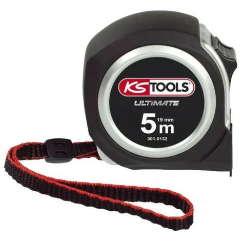 Mètre à ruban KS TOOLS Ultimate - Bi-matière - 5m x 19mm - 301.0132