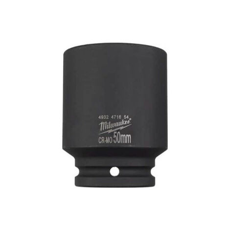 Douille MILWAUKEE shockwave - 50 mm - 3/4 - 4932471654