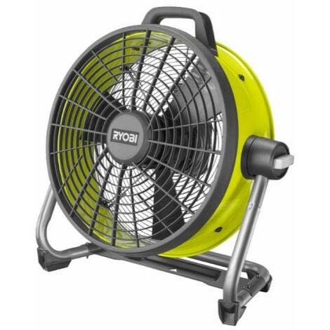 Ventilateur brasseur d'air RYOBI 18V Sans batterie ni chargeur R18F5-0