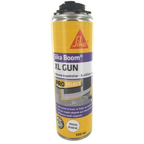 Mousse polyuréthane expansive SIKA Sikaboom - XL Gun - 500ml - Gris