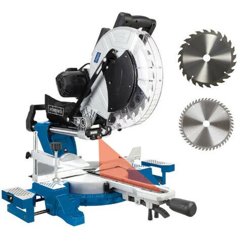 Scie à onglet radiale SCHEPPACH 305 mm 2000W - HM140L