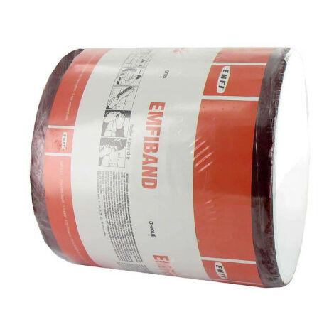 Bande d'étanchéité autocollante à froid rouge brique EMFI 15cm x 10m
