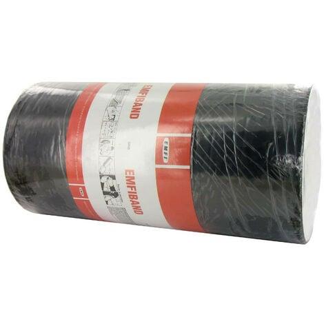Bande d'étanchéité autocollante à froid gris plomb EMFI 30cm x 10m