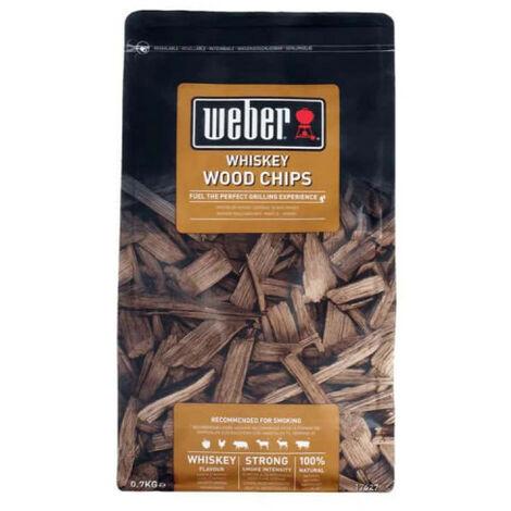 Mélange de copeaux de bois WEBER - Whisky - 0,7kg