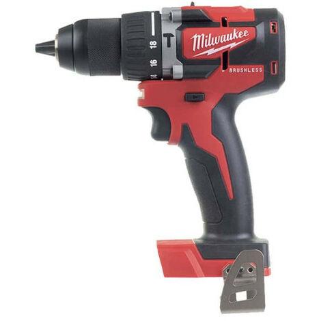 Perceuse Visseuse MILWAUKEE Brushless M18 CBLPD-422C - 2 batteries 18V 2.0Ah-4.0Ah - 1 chargeur 4933472116