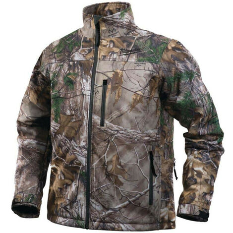 Veste chauffante camouflage Milwaukee M12 HJ CAMO4-0 taille S sans batterie ni chargeur 4933451596 - Camouflage