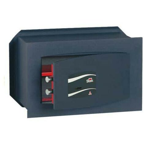Coffre-fort à emmurer serrure à clef série 800 stark 800 260x180x150mm