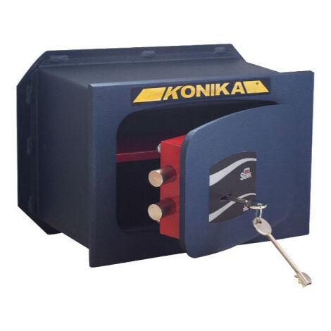 Coffre fort à emmurer serrure à clef série 200TK stark 201PTK 310x210x195mm