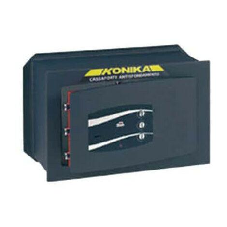 Coffre fort à emmurer à clef combinaison trois cadrans série 240TK stark 243PTK 400x250x240mm