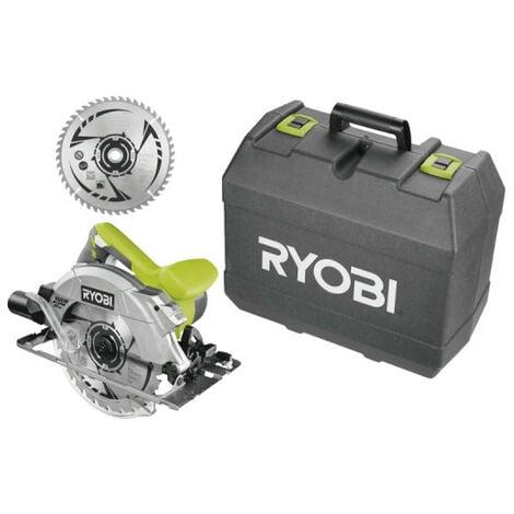 Scie circulaire RYOBI 1600W 66mm - 1 lames 48 dents - 1 lame 24 dents - RCS1600-K2B
